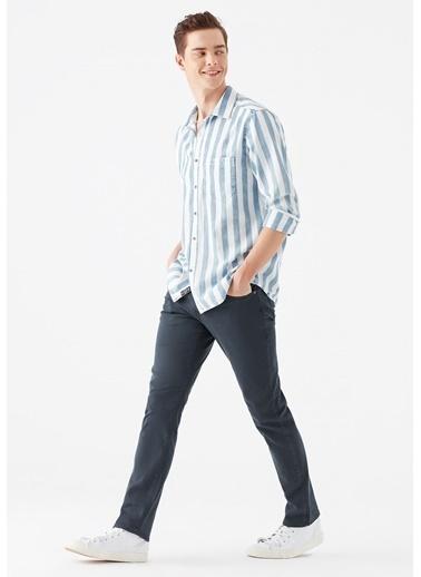 Mavi Jake  Yıkamalı Gabardin Pantolon Lacivert